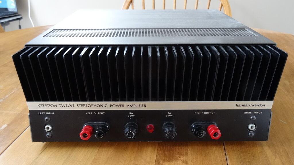 Harman Kardon Citation Amplifiers