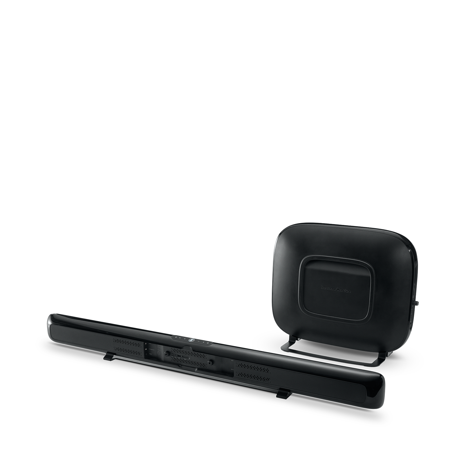 Omni Bar Plus - Black - Wireless HD Soundbar - Back