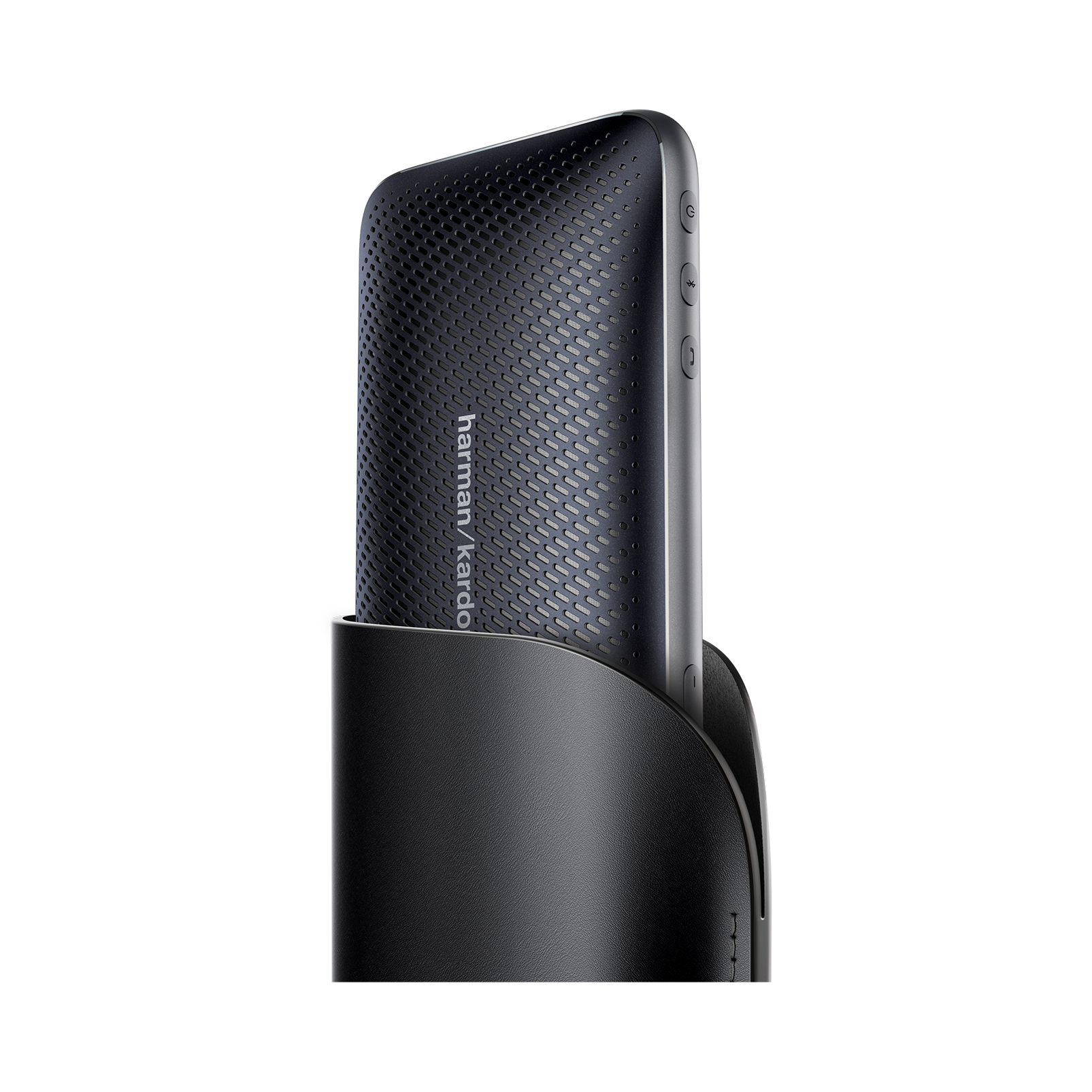 Harman Kardon Esquire Mini 2 - Black - Ultra-slim and portable premium Bluetooth Speaker - Detailshot 1