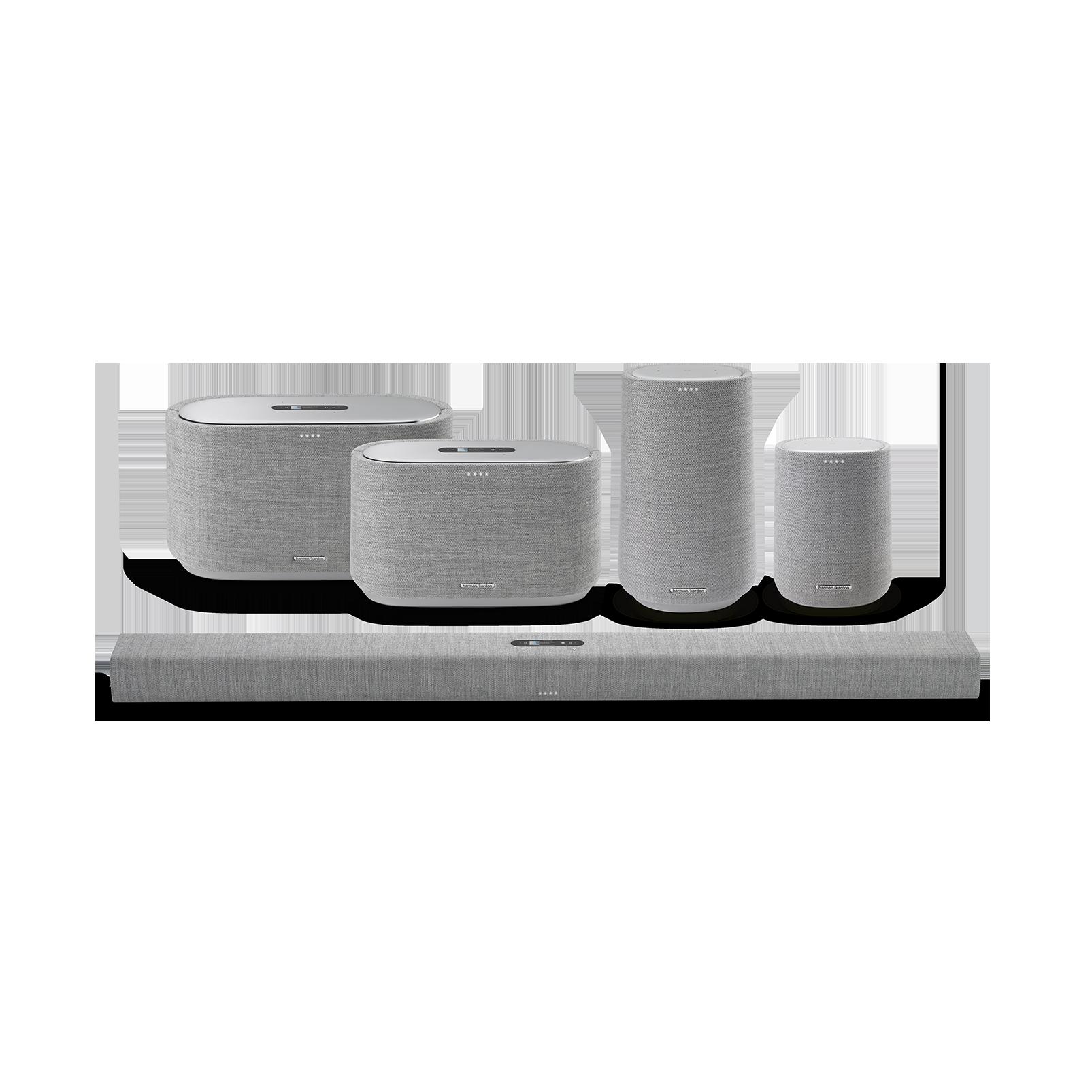 Harman Kardon Citation 100 - Grey - The smallest, smartest home speaker with impactful sound - Detailshot 5
