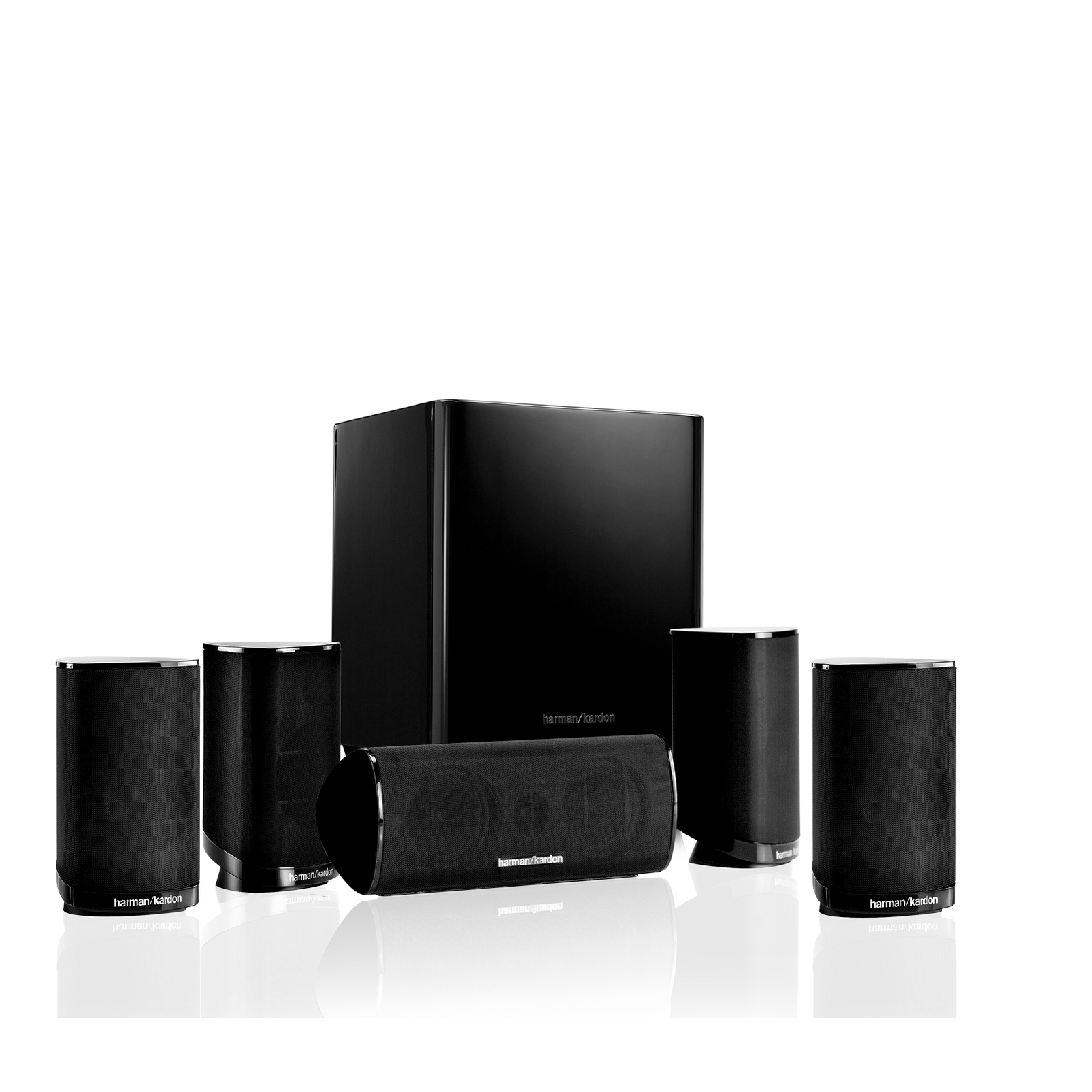 Hkts 9 5 1 Channel Home Theatre Speaker System
