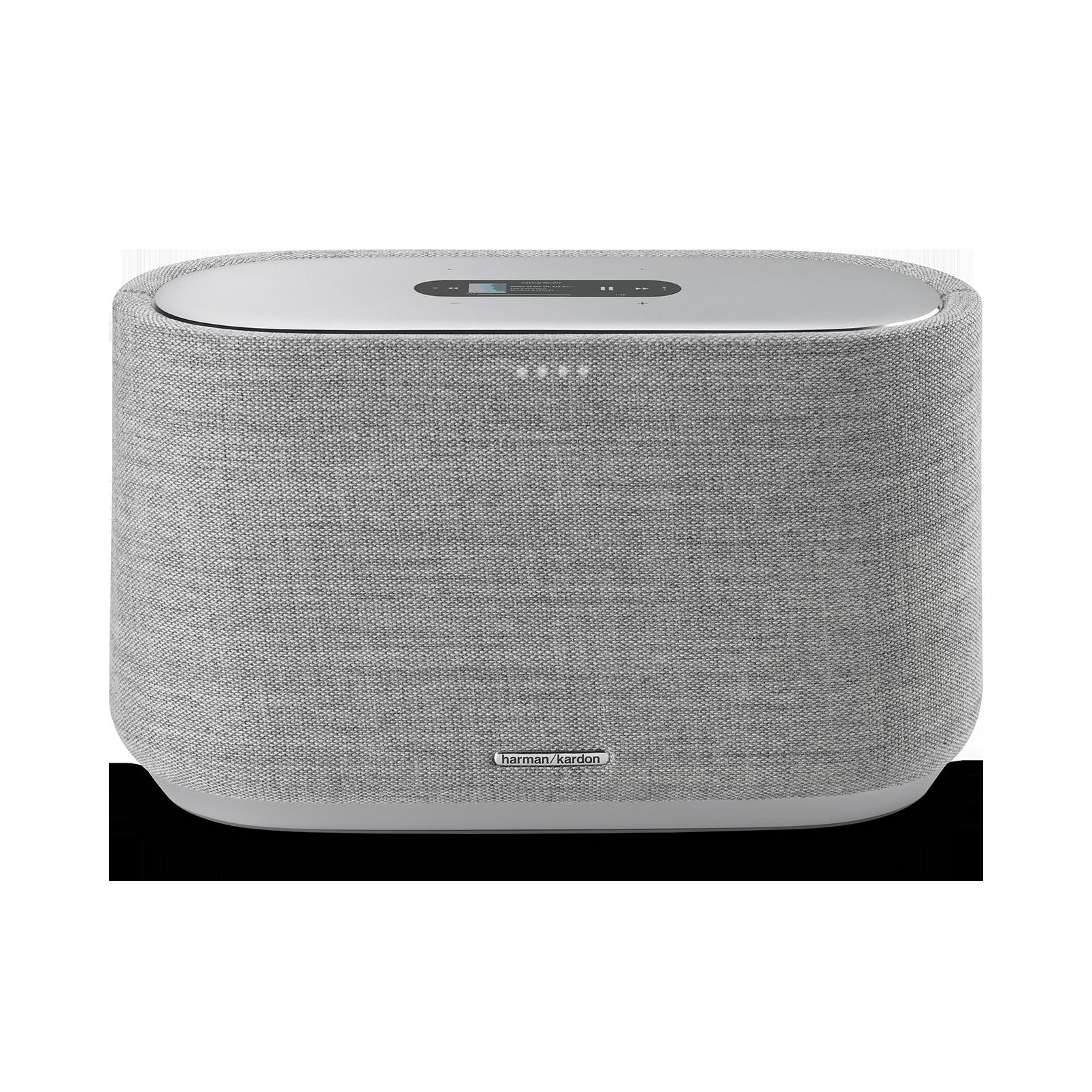 Harman Kardon Citation 300 - Grey - The medium-size smart home speaker with award winning design - Front